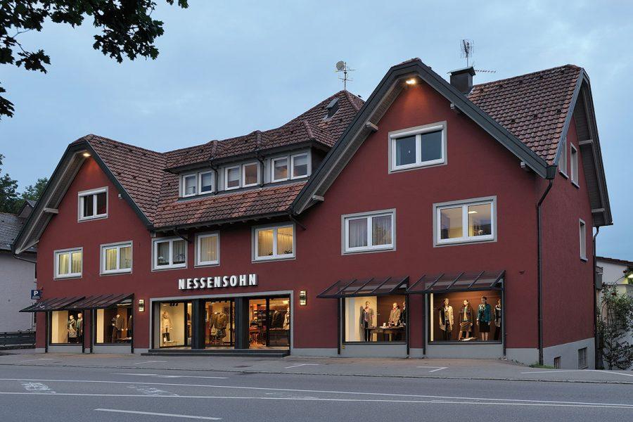 Modehaus Nessensohn Stammhaus in Wangen